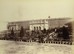 Machi Bhawan Palace, East View, [Rampur]